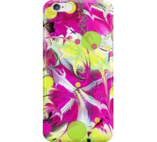 Pink Flower Explosion iPhone Case/Skin