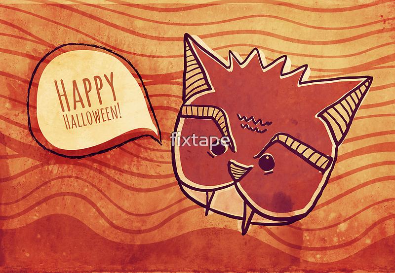 Happy Halloween by fixtape
