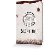Silent Hill Minimalist Greeting Card