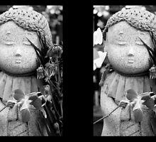 Jizo Statue 1 by WaterGardens