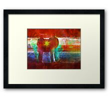 Co Creation at it's Finest  Framed Print