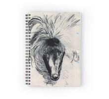 Yawning Dog Spiral Notebook
