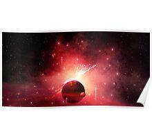Mesmerizing Nebula Poster