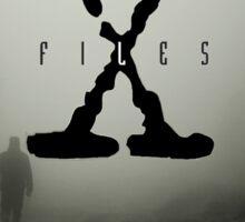 x files fog Sticker