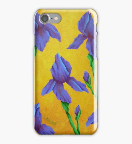 Purple Iris iPhone Case/Skin