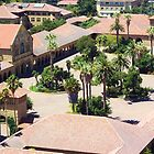 Stanford University Main Quad from Hoover Tower by Martha Sherman