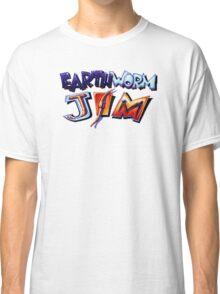 Earthworm Jim (SNES) Title Screen Classic T-Shirt
