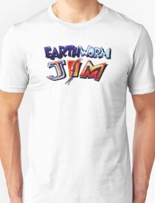 Earthworm Jim (SNES) Title Screen T-Shirt