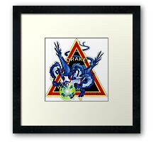 NROL-38 (Drake) Program Logo Framed Print
