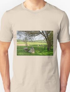 Sheep At Abbotsbury, Dorset T-Shirt