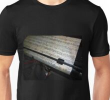 Old Music and Typewriter Unisex T-Shirt