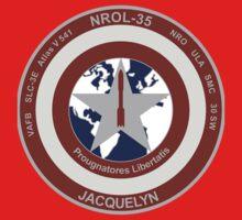 NROL 35 Launch Team Logo One Piece - Long Sleeve