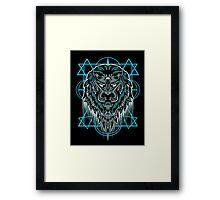 Myth Lion Framed Print