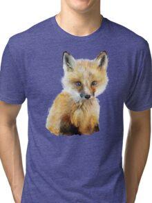 Little Fox Tri-blend T-Shirt