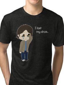 I lost my shoe Tri-blend T-Shirt