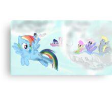 The flight of fancy Canvas Print