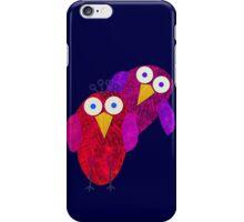 Owlette and her boyfirend iPhone Case/Skin