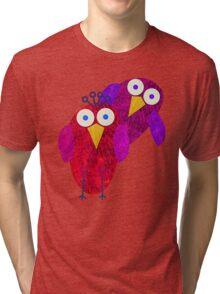 Owlette and her boyfirend Tri-blend T-Shirt