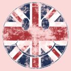 Smiley UK flag (vintage) by GraceMostrens