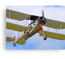 Fairey Swordfish II LS326 - Duxford Canvas Print