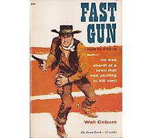 Fast Gun by Walt Coburn Photographic Print
