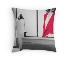 I saw Red Throw Pillow