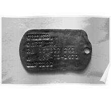 Dog Tag (The Second Indochina War) Poster