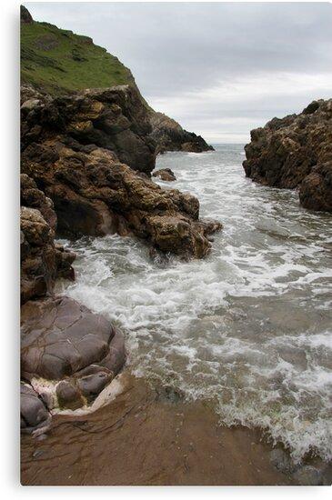 Turning Tide - Mewslade Bay by Samantha Higgs