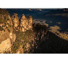 Three Sisters & Echo Point at Katoomba Photographic Print