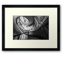 Parisian staircase  Framed Print