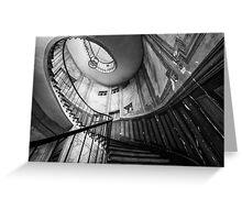 Parisian staircase  Greeting Card