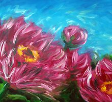 Peonies by Ira Mitchell-Kirk