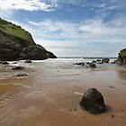Mewslade Bay - Wales by Samantha Higgs