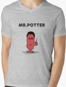 Mr.Potter Mens V-Neck T-Shirt