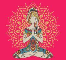 Yoga Om Chakras Mindfulness Meditation Zen 4 by yogaclothes
