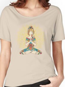 Yoga Om Chakras Mindfulness Meditation Zen 4 Women's Relaxed Fit T-Shirt