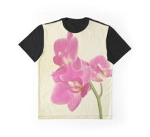 Pink Orchid Graphic T-Shirt