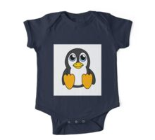 Little Penguin One Piece - Short Sleeve