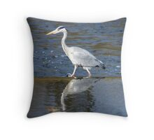 Heron ... Throw Pillow