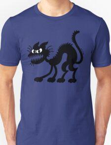 Halloween Black Cat T-Shirt