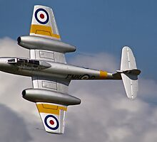 The Gloster Meteor - Dunsfold 2012 by Colin  Williams Photography