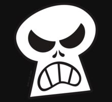 Angry Halloween Skull Kids Clothes