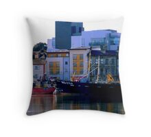 Wexford Quay... Throw Pillow