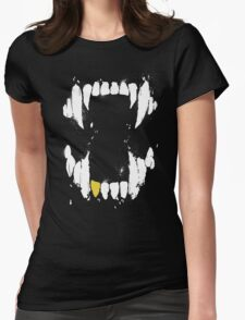 Real Goth Hours Womens Fitted T-Shirt