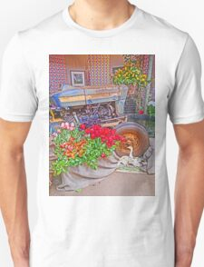 Floral tribute to Tractor T-Shirt