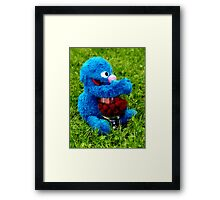Selfish Grover Framed Print