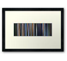 Moviebarcode: Appleseed / Appurushîdo (2004) Framed Print