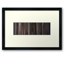 Moviebarcode: Cape Fear (1991) Framed Print