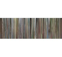 Moviebarcode: Ferris Bueller's Day Off (1986) Photographic Print