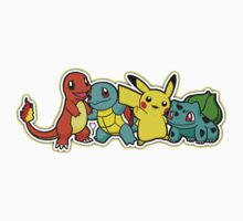 Pokemon First Generation *yellow Kids Clothes
